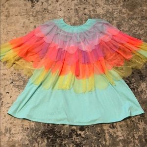 Girls XL 14/16 Rainbow Dress